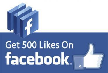 500 Facebook Likes to Fanpage - 24 Online Service