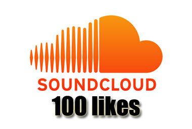 Get 100 Soundcloud Likes