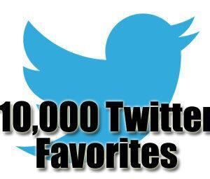 10k twitter favorites