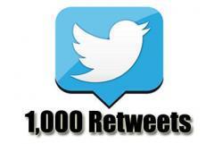 1k retweets