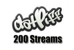buy 200 datpiff streams