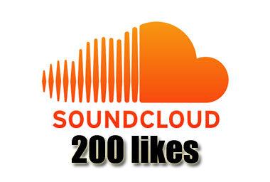 Get 200 Soundcloud Likes