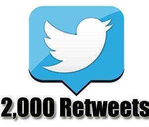 2k retweets