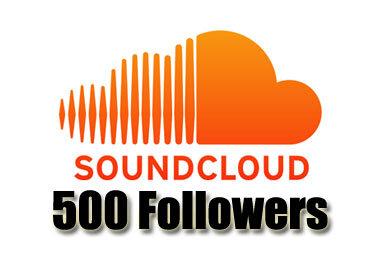 Order 500 Soundcloud Followers