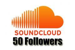 Order 50 Soundcloud Followers