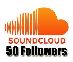 Order 50 Soundcloud Followers