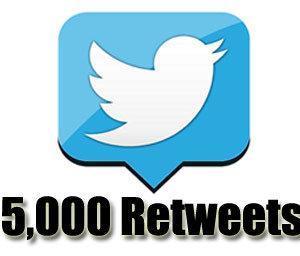 5k retweets