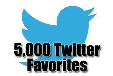 5k twitter favorites
